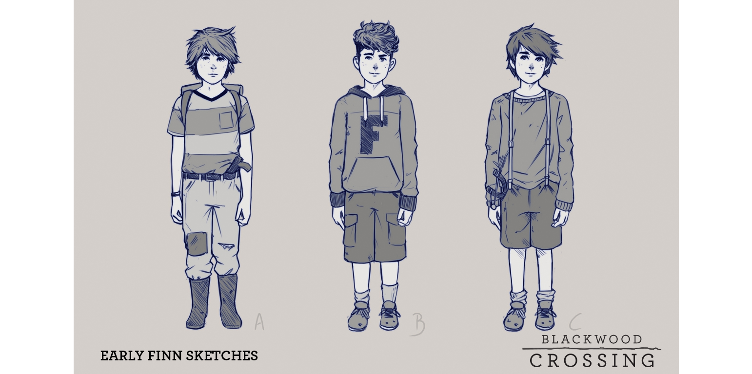 Next phase sketches of Finn