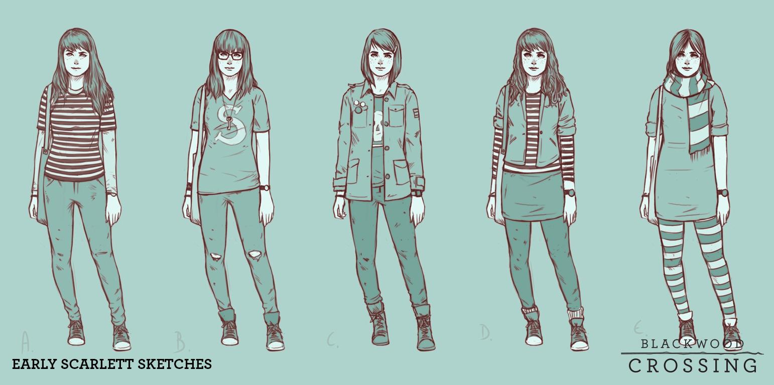 Next phase sketches of Scarlett